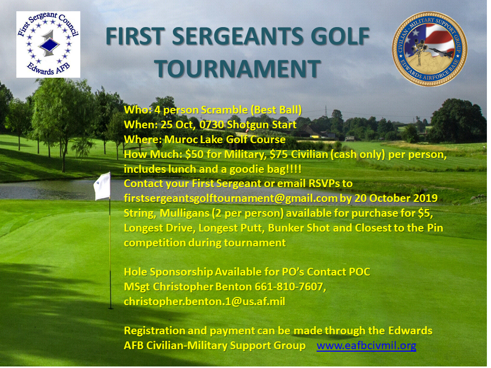 First Sergeant Golf Tournament 2019